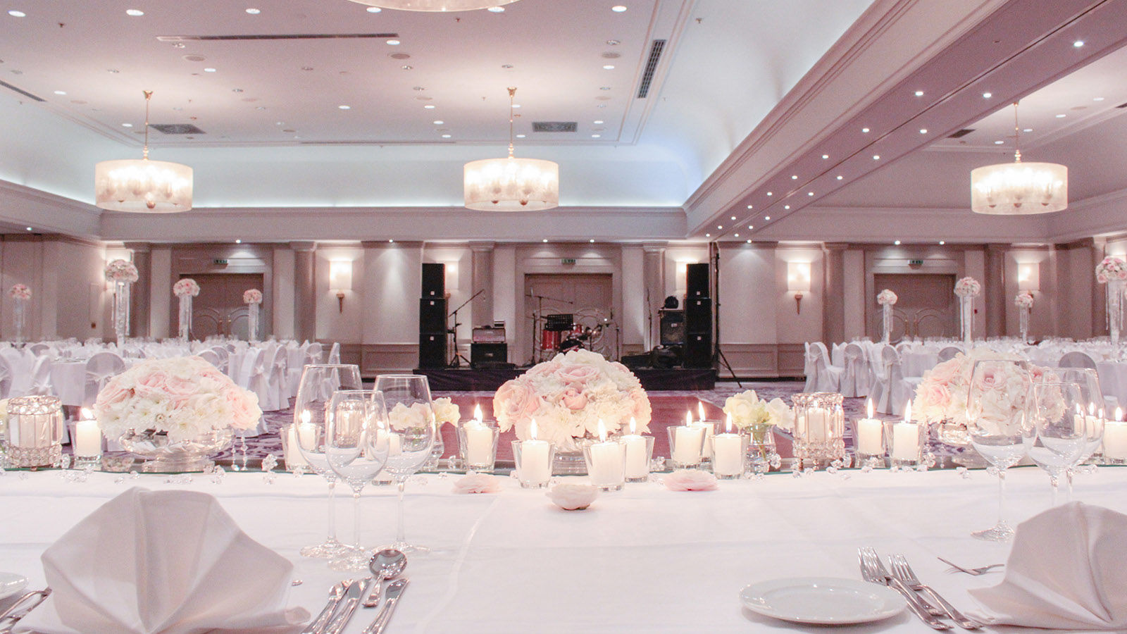 Wedding Set up at Sheraton Zagreb