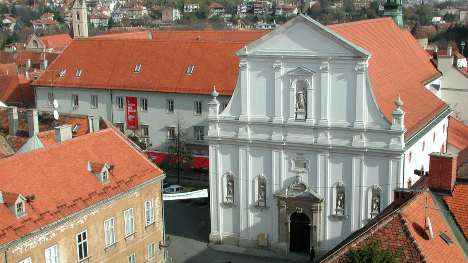 Zagreb city center attractions